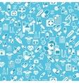 Medical background in blue vector image