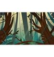 Tropical Rainforest Jungle vector image