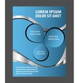 Abstract Flyer or Cover Design vector image