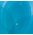 EPS10 wave background in blue tones vector image vector image