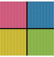knitted texture seamless vector image
