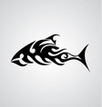 Tribal Fish vector image