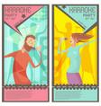 karaoke party tickets vector image