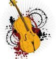 artist violin vector image