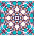 Intricate moorish eastern pattern vector image