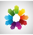 business teamwork people vector image