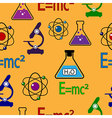 Science pattern vector image