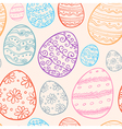 Abstract Easter seamless pattern vector image vector image