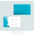 Business identity collection Turquoise tiffany vector image