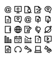 Communication Icons 3 vector image