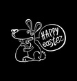 Have Yourself a Very Happy Easter Easter Bunny vector image