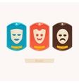 Set Masks vector image