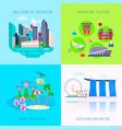 flat singapore culture icon set vector image