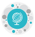 of education symbol on sphere vector image