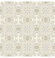 Lace seamless pattern vector image