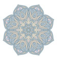 Mandala Oriental decorative element Islam Arabic vector image