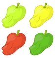 peppers set vector image