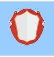 Vintage shield icon vector image