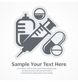 Medication symbols Medical vector image