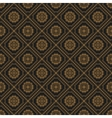 Seamless texture with vintage geometric ornament vector image