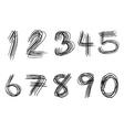 Abc alphabet type font set of vector image