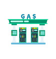 gas filling station icon vector image