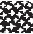seamless trendy modern cross or plus vector image
