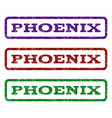 phoenix watermark stamp vector image