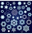 snowflake factory vector image vector image