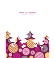 abstract textured bubbles Christmas tree vector image