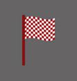 race flag vector image
