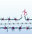 Freedom Aspirations vector image