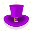 magic cylinder hat vector image