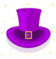 magic cylinder hat vector image