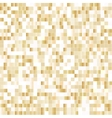 Seamless background with shiny pixels vector image vector image