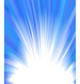 Winter glow vector image