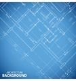 Blueprint building plan background vector image vector image
