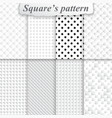 Texture square pattern vector image