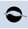 a narwhal vector image