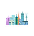 urban cityscape isolated icon vector image