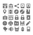 Advertising and Media Icons 2 vector image