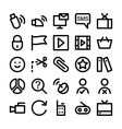 Communication Icons 7 vector image