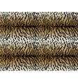 Tiger asymmetric strips seamless pattern vector image