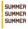 Set Summer Ice Cream vector image