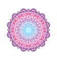 hand-drawn lace frame mandala vector image