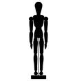 Artist mannequin vector image vector image