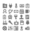 Advertising and Media Icons 3 vector image