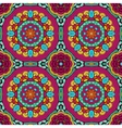 Seamless colorful abstract hand-drawn pattern vector image
