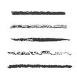 Custom pastel brush set vector image