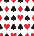 Play cards pattern vector image